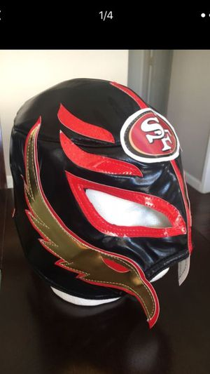 San Francisco 49ers Mask for Sale in San Lorenzo, CA
