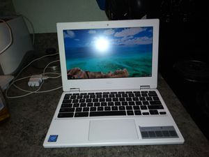 "11.6"" HD Acer Google Chromebook Denim White for Sale in Seattle, WA"