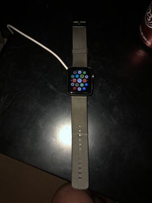 Apple Watch Series 2 42mm (MNQ12LL/A) with charger for Sale in Swansea, IL