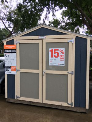 #566 Tuff Shed 8x8 KR600 Display Model for Sale in Houston, TX
