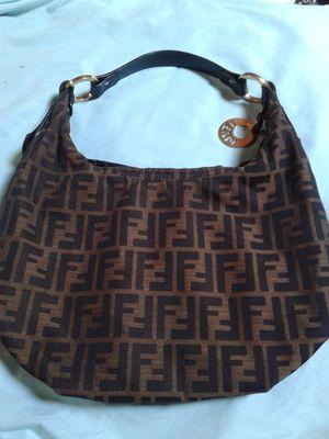 fendi zucca handbag for Sale in Oklahoma City, OK