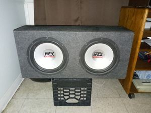 2 12in mtx subwoofer... for Sale in Pawtucket, RI