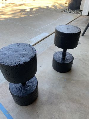 40 pound dumbbells $60 each or best offer for Sale in Fair Oaks, CA