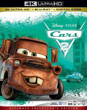 Cars 2 4K UHD Digital Movie Code for Sale in Fort Worth, TX