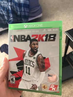 Nba 2k18 Xbox One for Sale in Sammamish, WA