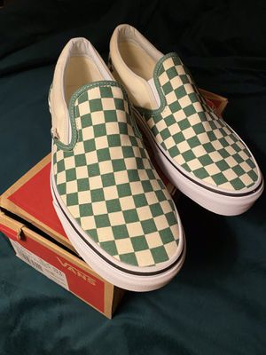 VANS checkerboard slip ons shoes NEW in Box for Sale in Seal Beach, CA