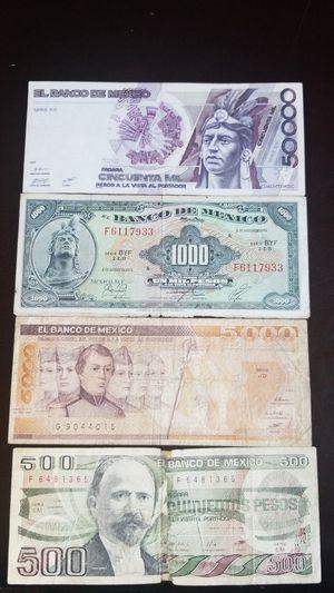 Billetes antiguas de mexico for Sale in Columbus, OH