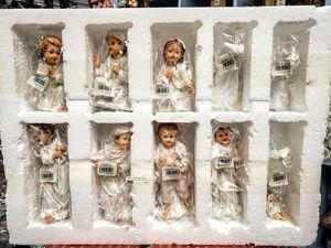 """Nacimiento 7"""" Pulgadas Infantil Blanco Alta Calidad Completo Nuevo 11 Pcs for Sale in Los Angeles, CA"""