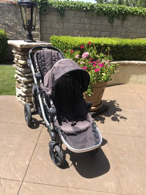 MAKE AN OFFER on Baby Jogger City Select Double Stroller WITH Second Seat - good safety score for Sale in Corona, CA