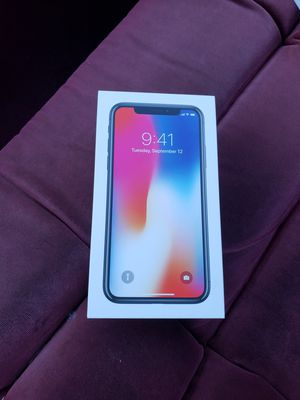 Brand new iPhone x 64gb for Sale in Knoxville, TN