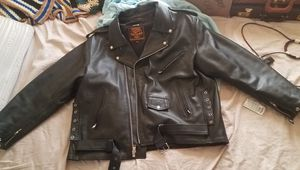 Milwaukee leather 5xl vented motorcycle jacket for Sale in Ashwaubenon, WI