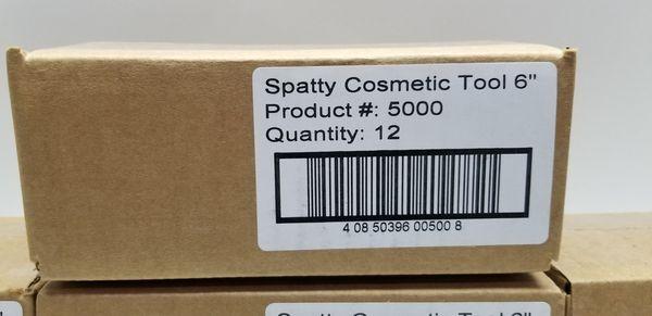 "BULK LOT 84 x Spatty 6"" Cosmetic Beauty & Kitchen Mini Spatula Reusable Scraper Tool"