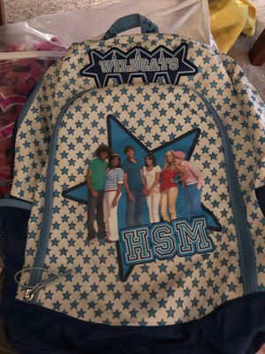 High School Musical Backpack blue for Sale in Stockton, CA