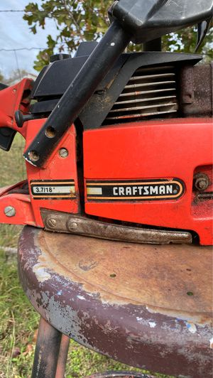 20 inch craftsmen chainsaw for Sale in McLoud, OK