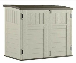 Shed Outdoor Storage Utility Garage Box Deck Patio Garden Lawn Care or Store your Garbage Cans for Sale in Brooklyn, NY