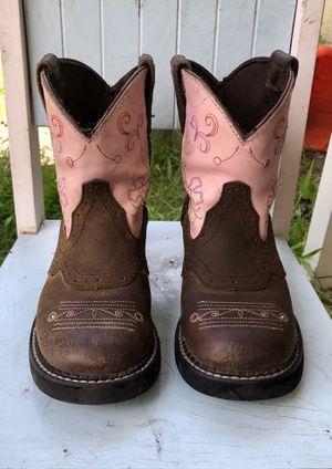 Girls light up Ariat boots for Sale in Punta Gorda, FL