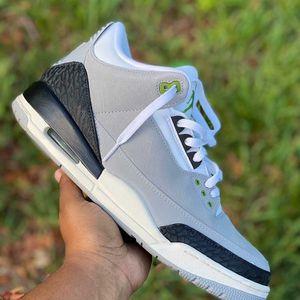 """Air Jordan Retro 3 """"Chlorophyll"""" for Sale in Opa-locka, FL"""