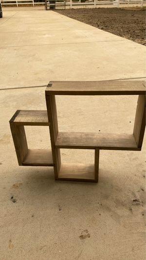 Wooden wall shelves for Sale in Bakersfield, CA