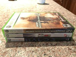 Xbox 360 games : CoD:MW2 , Halo 3 , NBA 2k10 for Sale in Artesia, CA