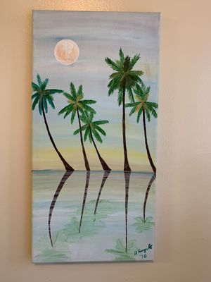 Acrylic painting on canvas for Sale in Reston, VA