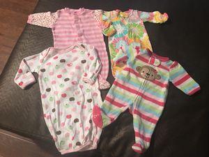 Girls Jammies newborn for Sale in Grosse Pointe Farms, MI