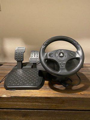 Ps4 racing steering wheel for Sale in Litchfield Park, AZ