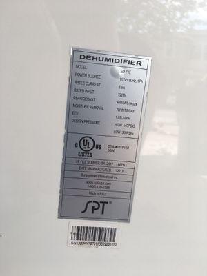 SPT Dehumidifier SD-71E for Sale in Fort Lauderdale, FL