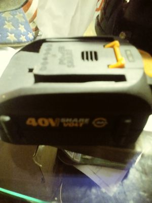 Share power battery for works tools for Sale in Norfolk, VA