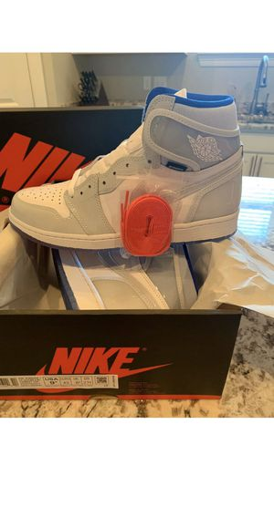 Jordan 1 retro high zoom white racer blue 9.5men for Sale in Costa Mesa, CA