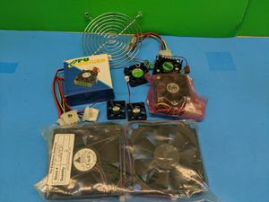 Computer or Hobby Fan Lot - A few Different Sizes and Types for Sale in Elk Grove Village, IL