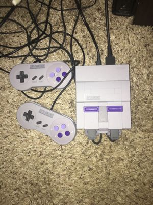 MINI Super Nintendo Classic like new for Sale in Pittsburgh, PA