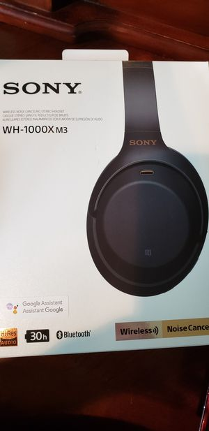 Sony Bluetooth headphone (WH1000x m3) for Sale in Arnold, MO