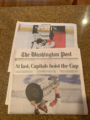 CAPS WIN Newspaper for Sale in Fairfax Station, VA