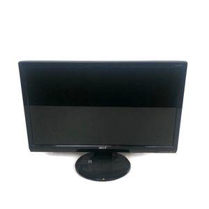 "ACER Model P205H 20"" Black Flat Panel Desktop LCD Computer Monitor VGA/DVI for Sale in Anaheim, CA"