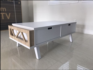 Melody Coffee Table, White and Weathered for Sale in Westminster, CA