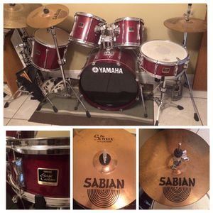 Yamaha stage custom drum set for Sale in Tampa, FL