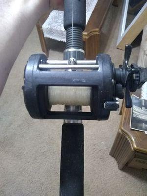 Shimano Triton Speed Master TSM200FS Fishing Reel Abu Garcia Commodore Pole Combo for Sale in Miami, FL