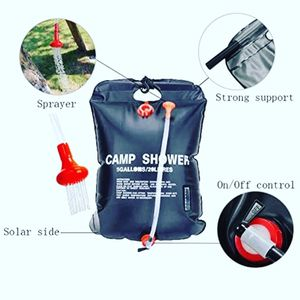 OSMY 20 liters 5, gallons solar heating shower camping bag for Sale in Shrewsbury, MA