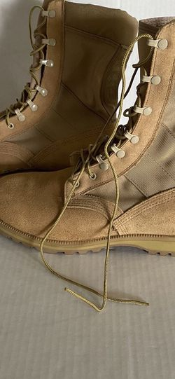 Military Vibram Size Wide 10 1/2 men's Brown Tan Suede Boots for Sale in Las Vegas,  NV