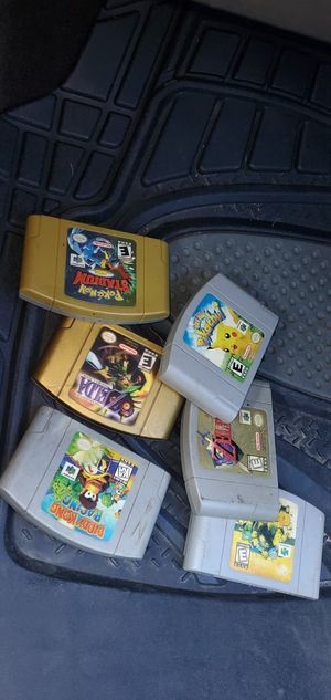 Games for 64 for Sale in Brooklyn Park, MD