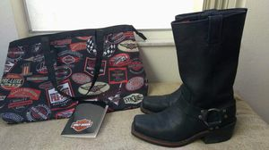 Boot and Bag Harley Dadvidson for Sale in Orlando, FL