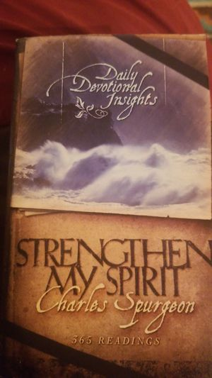 Daily devotional insights. Strengthen my spirit. Charles Spurgeon for Sale in Torrance, CA