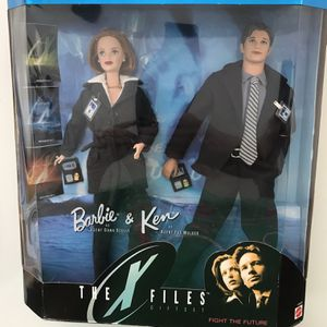 X Files Barbie And Ken Dolls for Sale in Goodyear, AZ