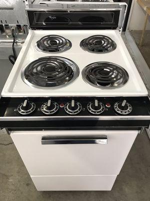 Whirlpool studio size stove for Sale in Stockton, CA