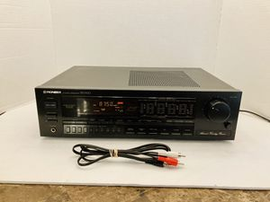 Vintage Powerful Pioneeer 170 Watt Surround Sound Stereo Receiver for Sale in Spring Hill, FL