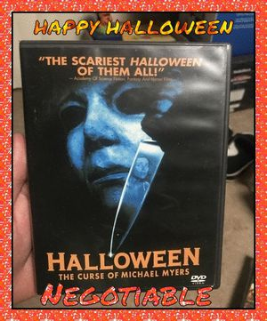 4 HALLOWEEN movies 1, 4, 5, H2O and resurrection for Sale in Philadelphia, PA