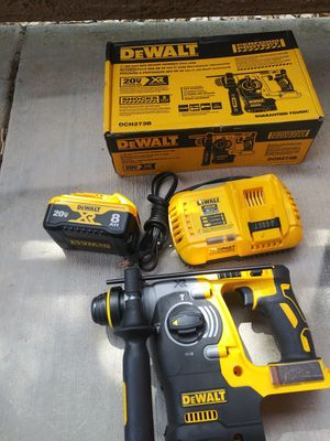 Dewalt rotary hammer kit for Sale in North Las Vegas, NV