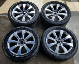 """2003-2008 INFINITI FX35 FX45 20"""" INCH WHEELS RIMS WITH TIRES SET OEM for Sale in Fort Lauderdale, FL"""