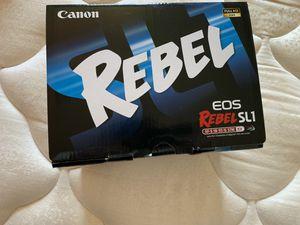 Cannon Rebel DSLR Camera for Sale in San Mateo, CA