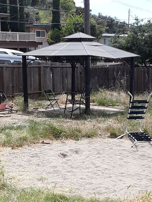Used, Gazebo will deliver and setup for Sale for sale  Benicia, CA